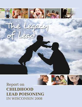 This is the front cover of the Leagacy of Lead report.