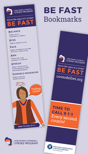Be Fast Stroke Book Mark