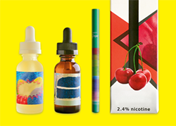 Flavored eCigarette products