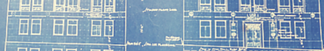Blueprint of DHS facility at 1 West Wilson