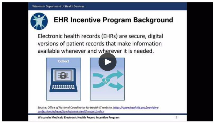 EHR Intro Video Bump