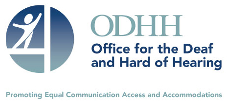 Logo for the Office for the Deaf and Hard of Hearing