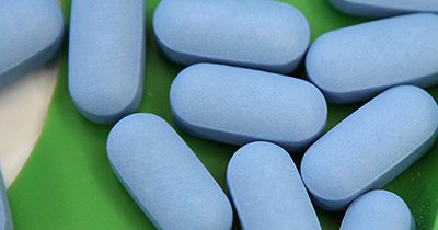 Image of blue pills