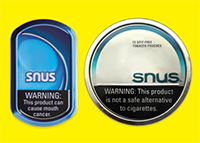 Smokless tobacco products