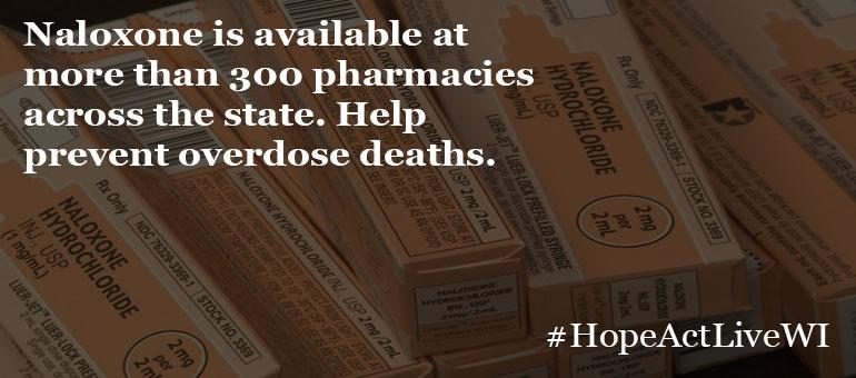 Help Prevent Overdose Deaths. Naxolone is available at more than 300 pharmacies across the state.