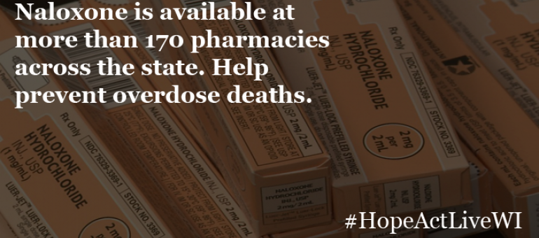 Save lives. Stop opioid overdoses. Many pharmacies one dispense naloxone. Find one near you.
