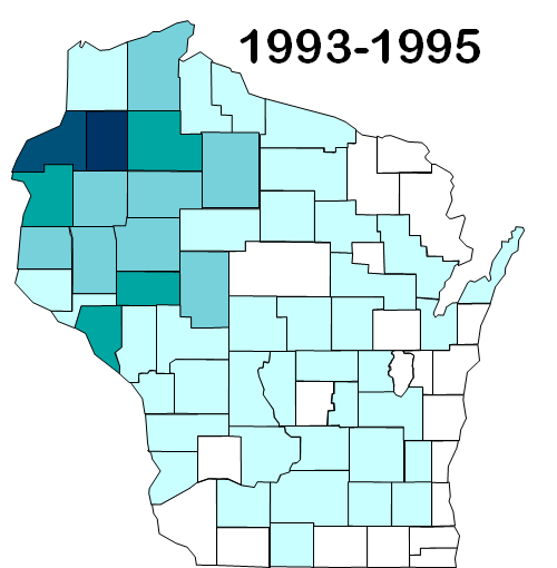 Lyme Disease in Wisconsin 1993-1995