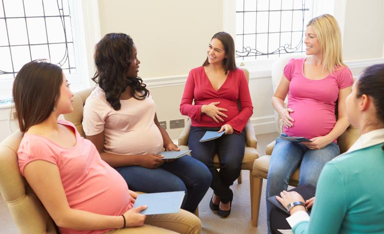 Pregnant women support group
