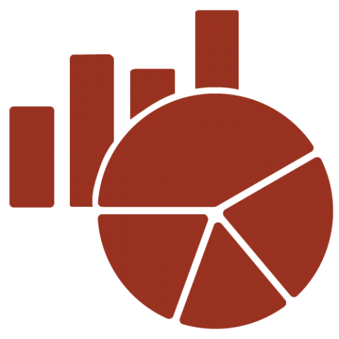 Facts and figures icon.