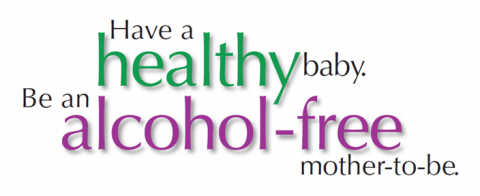 Image from SAMHSA for fetal alcohol spectrum disorders awareness