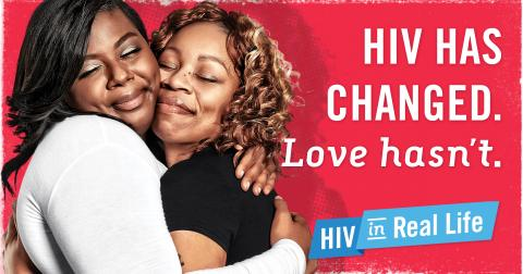 HIV has changed Love hasn't