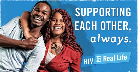 HIV: Supporting each other, always