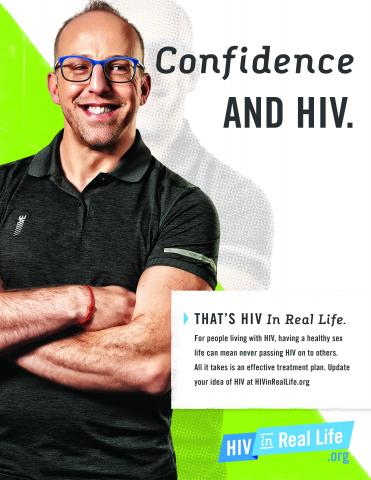 HIV Poster: Confidence and HIV