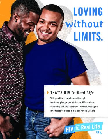 HIV Poster: Loving without limits