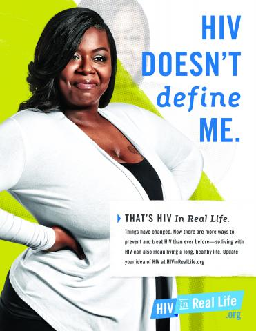 HIV Poster: HIV Doesn't Define Me