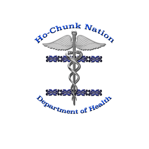 HoChunk Nation department of health logo