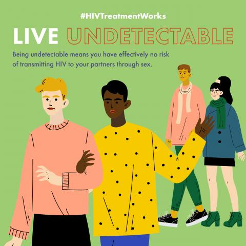HIV Treatment Works: Live Undetectable