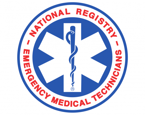Logo for the National Registry Emergency Medical Technicians