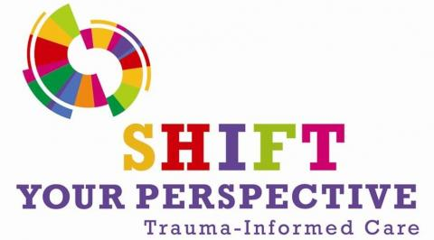 Shift your Perspective logo.