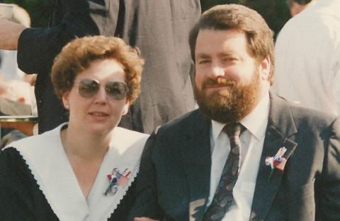 Dan Johnson with his wife Kathy