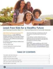 Lead-Free Kids for a Healthy Future