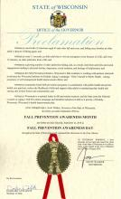 Fall Prevention Month Proclamation