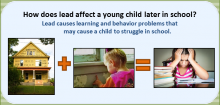 Impact of lead on child's ability to learn