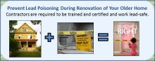 Certified lead contractors are needed for proper lead removal