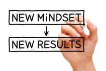 New mindset point to new results written.