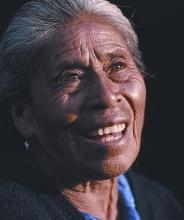 Image of an elderly Native American woman.