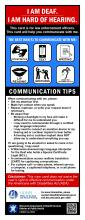 Communication Guide for use with law enforcement personnel