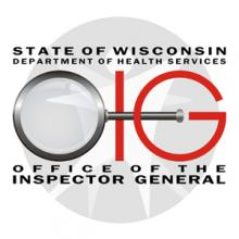 Office of the Inspector General Logo with name present