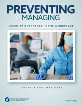 Preventing and Managing COVID-19 Outbreaks in the Workplace, P-02787