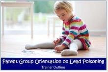 Parent group orientation on lead poisoning