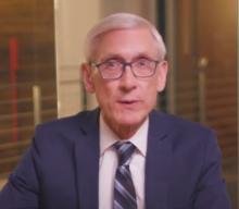 Still image of video with play icon of Governor Evers