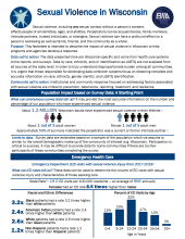 Sexual violence fact sheet