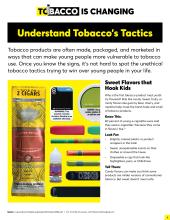 Tobacco is changing, understand tobacco's tactics