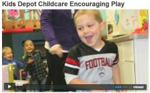 Image of a video still from Kids Depot Childcare