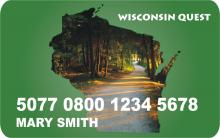 WI EBT card front
