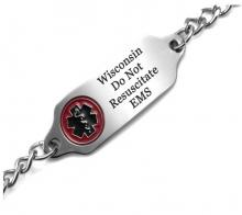 Image of a Do Not Resuscitate Bracelet