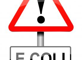 E. Coli traffic sign