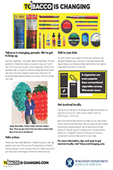 Tobacco is Changing infographic