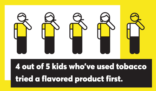 Kids Start Using Flavored Tobacco Products